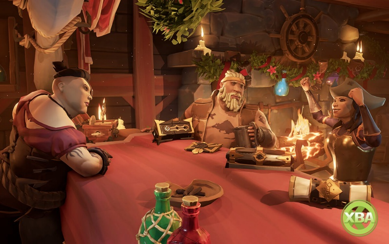 Sea of Thieves Update Delivers 'Gilded Gifts' Throughout the Festive