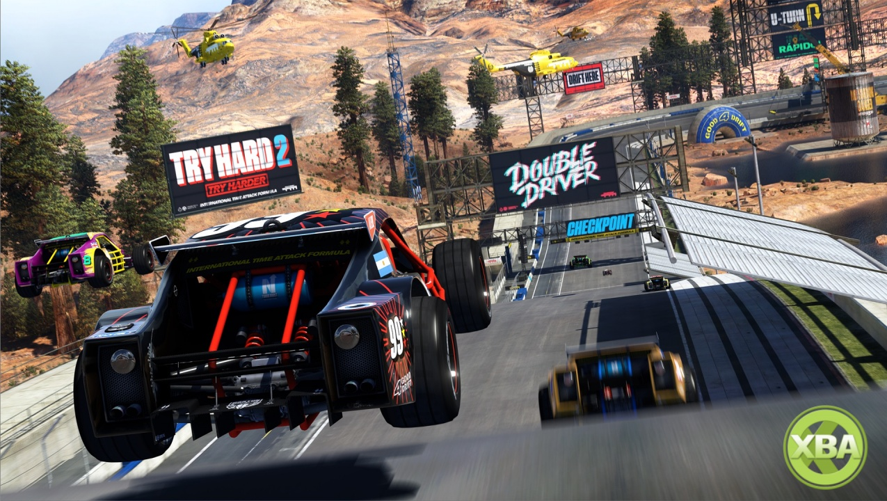 trackmania turbo trailer shows off multiplayer modes. Black Bedroom Furniture Sets. Home Design Ideas