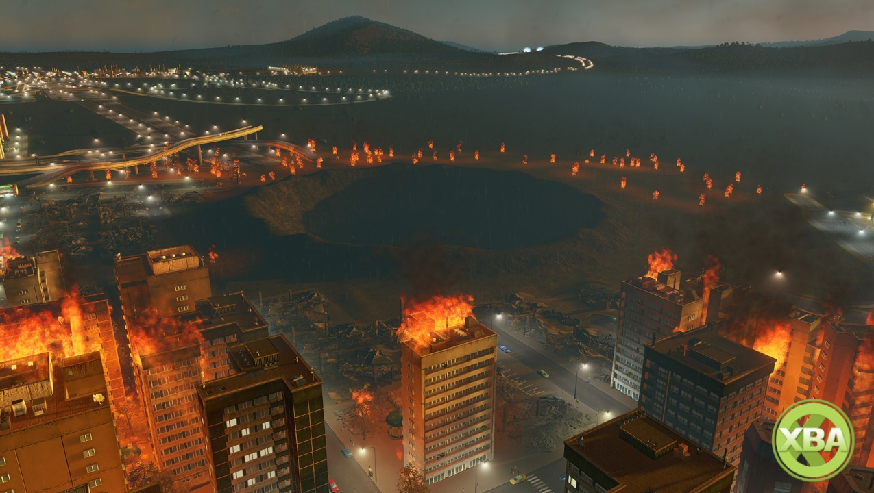 Cities Skylines Natural Disasters Xbox One