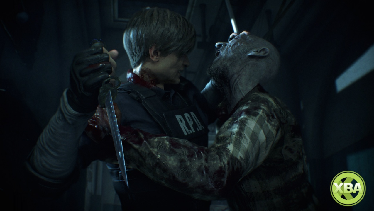 Resident Evil 2 E3 2018 gameplay video