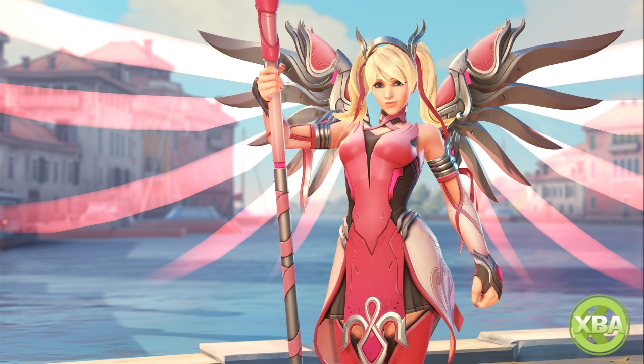 Heroes Raise Nearly 13 MILLION Dollars Through Charity Mercy Skin - Overwatch