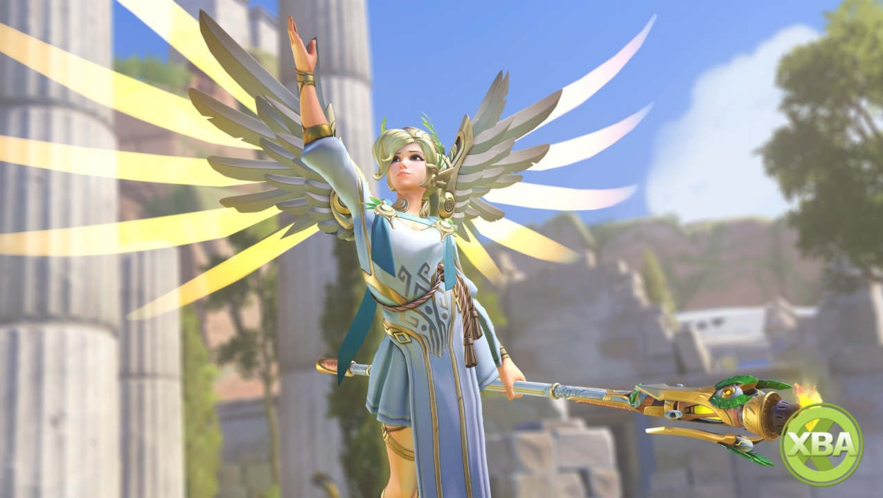 Overwatch's Mercy is being rebalanced in a spectacular way