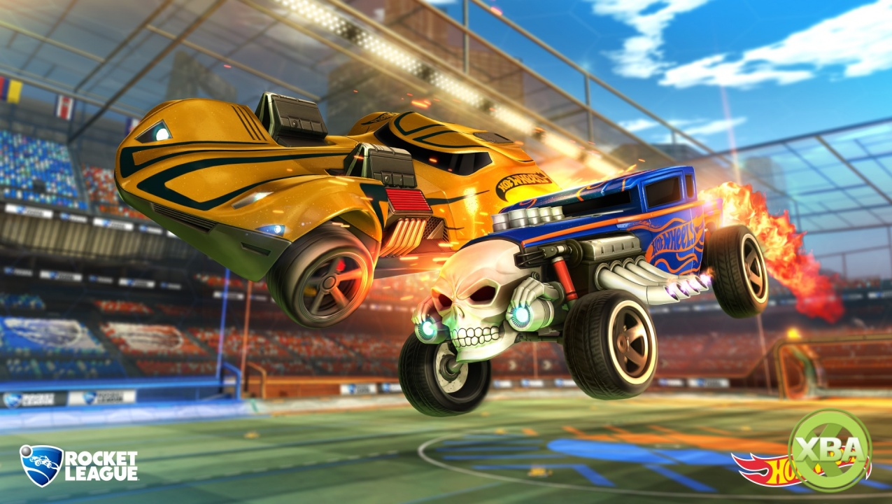 Rocket League Gets New Hot Wheels Cars and Content This Month