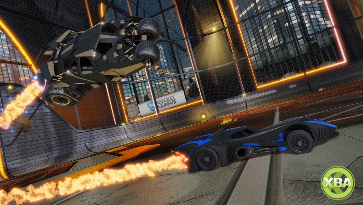 Rocket League DC Super Heroes DLC Pack