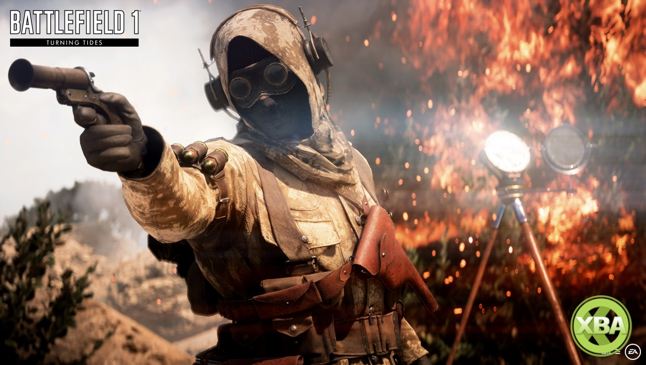 EA Announces Battlefield 1 Turning Tides Expansion Launch Date