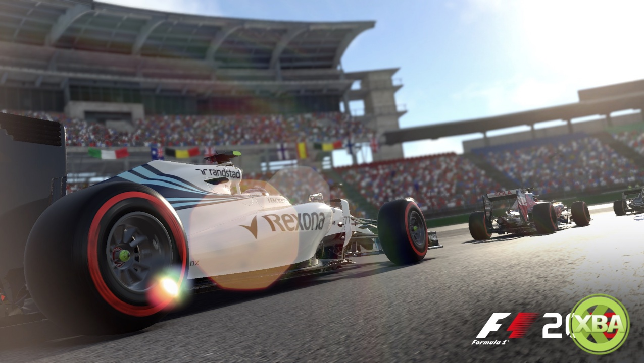 f1 2016 39 s latest trailer takes a hot lap around hockenheim xbox one xbox 360 news at. Black Bedroom Furniture Sets. Home Design Ideas