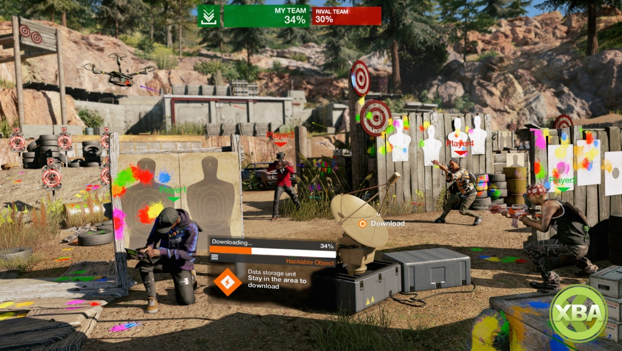 See Watch Dogs 2's Free Showd0wn Multiplayer Modes and