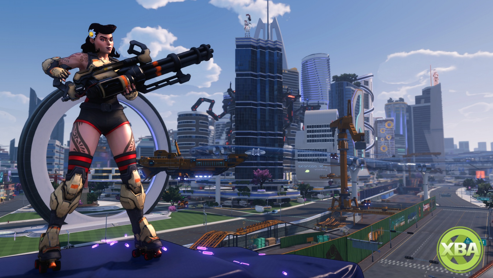 New Agents of Mayhem Trailer is Faster, Harder, Stronger