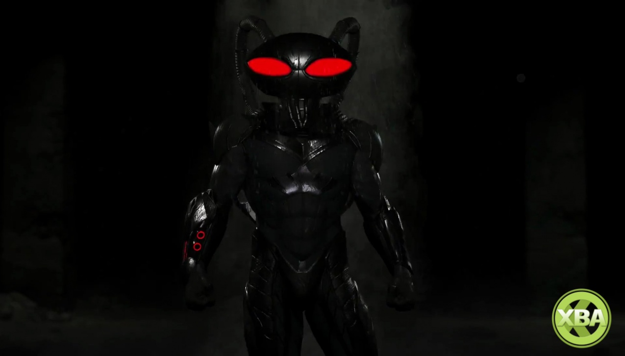 First in-game screenshot of Injustice 2's Black Manta released