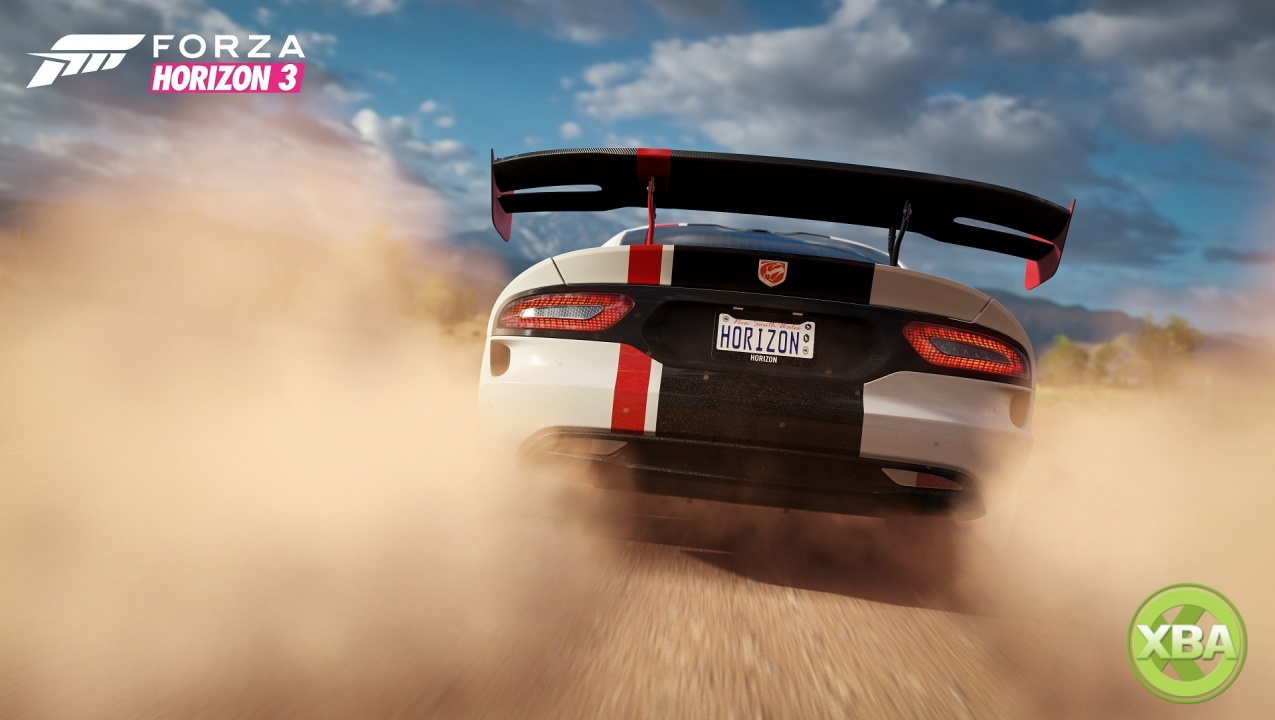 Forza Horizon 3's 4K upgrade for the Xbox One X available now