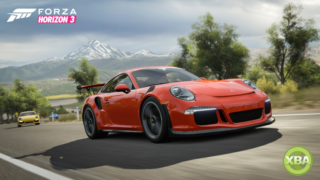 forza horizon 3 porsche car pack is available now xbox. Black Bedroom Furniture Sets. Home Design Ideas