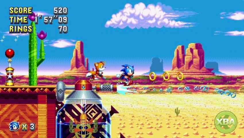 Sega announces Sonic Mania Plus and secret racing game