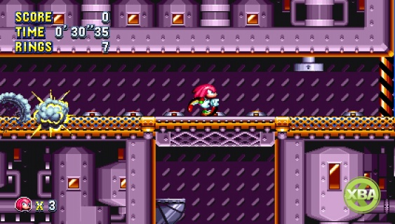 New Sonic Mania Footage Features Knuckles In Flying Battery Zone
