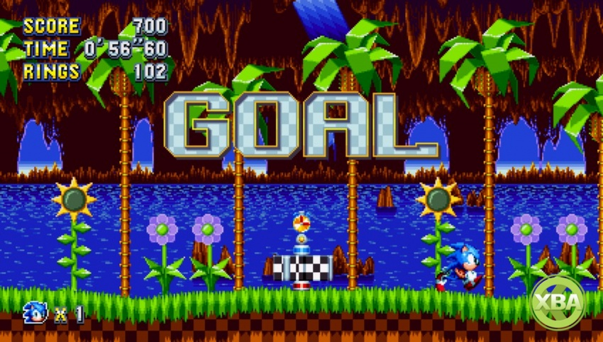 Check out Sonic Mania's bonus stages and time attack mode in action