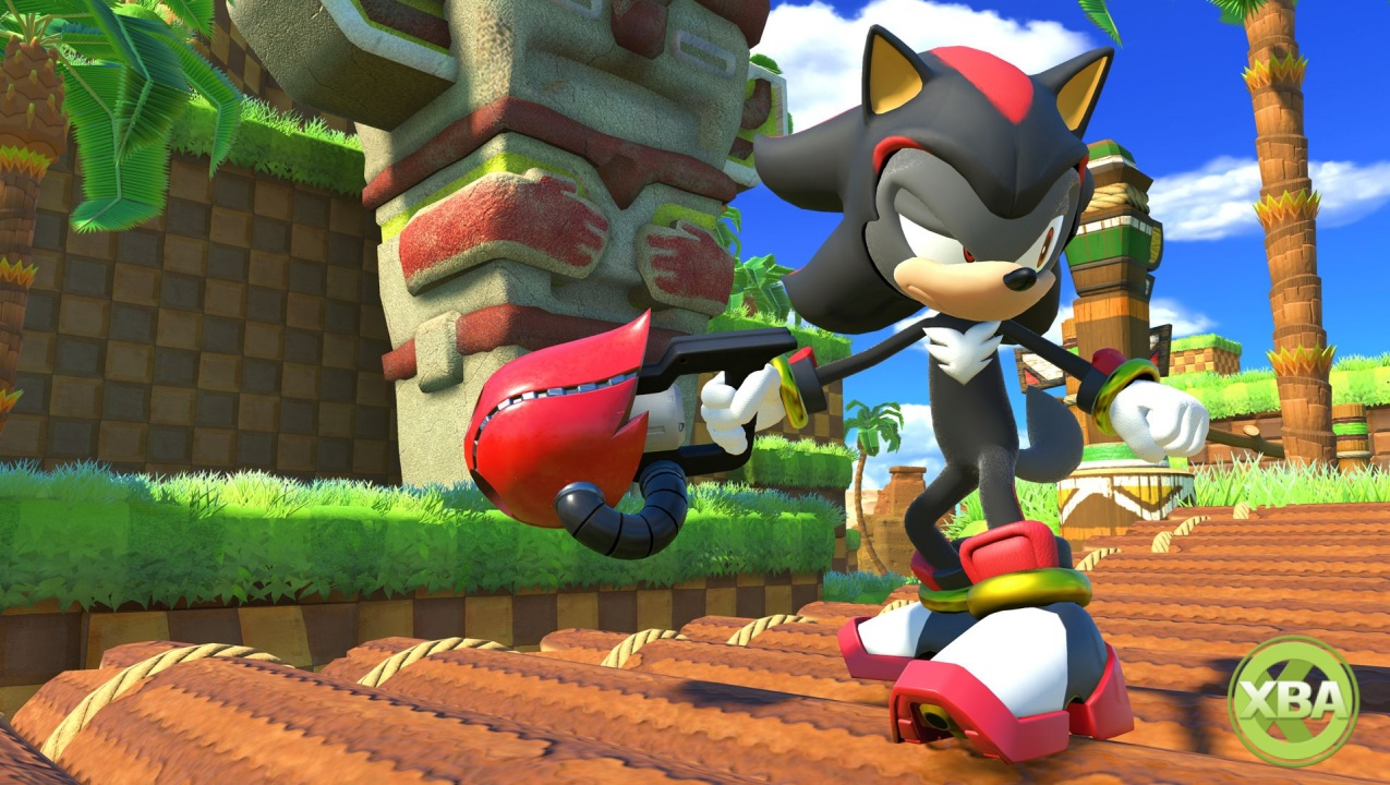 Shadow Will Be Joining the Party in Sonic Forces via Free DLC