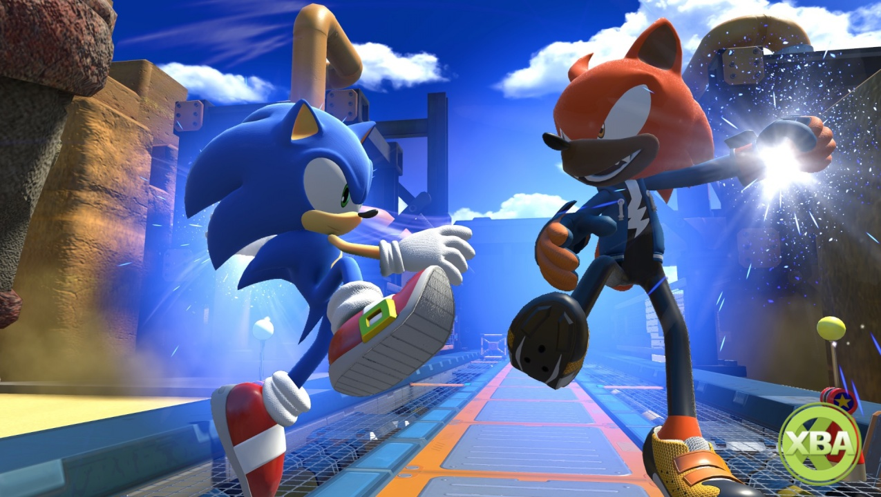Sonic Forces 'Tag' gameplay, screenshots