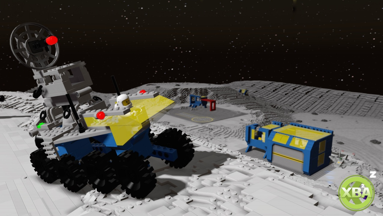 Lego Worlds Building Space