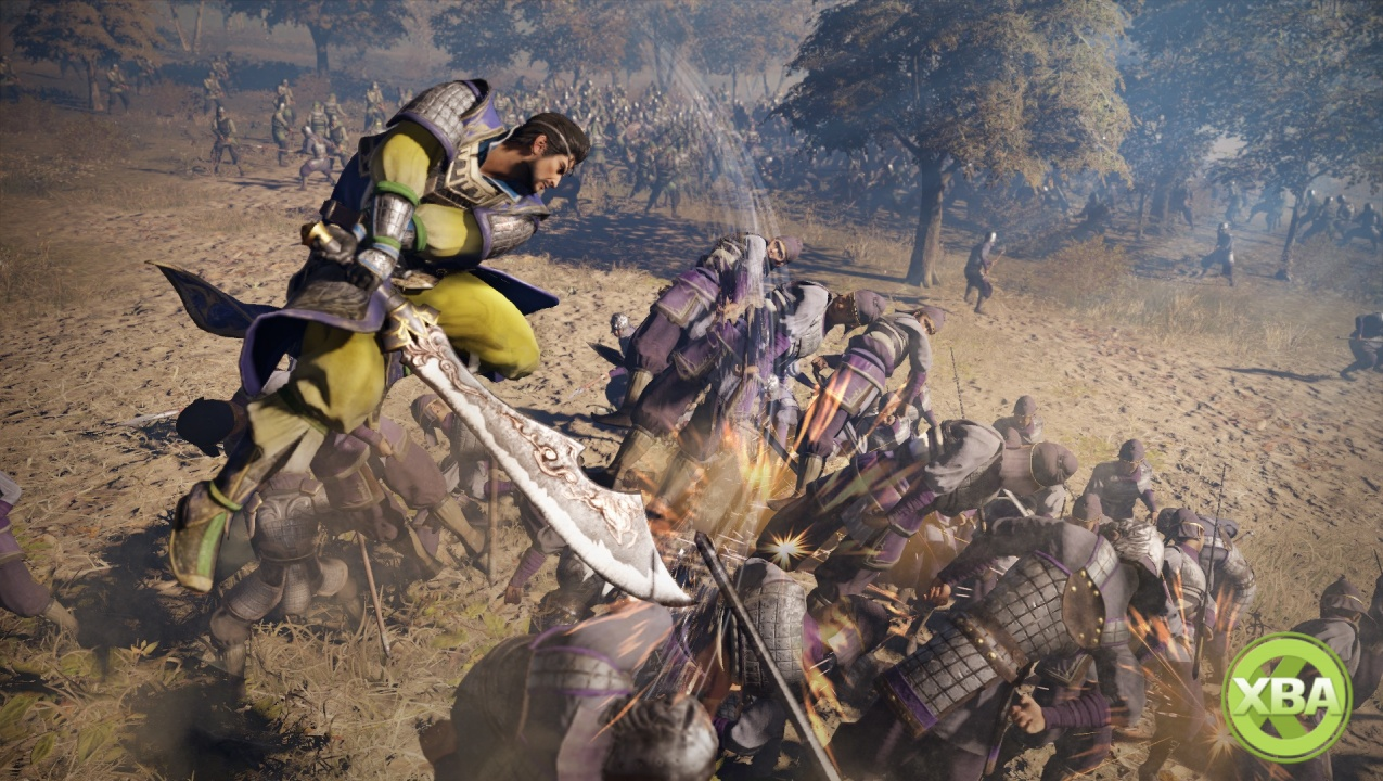 Here's our very first look at Dynasty Warriors 9