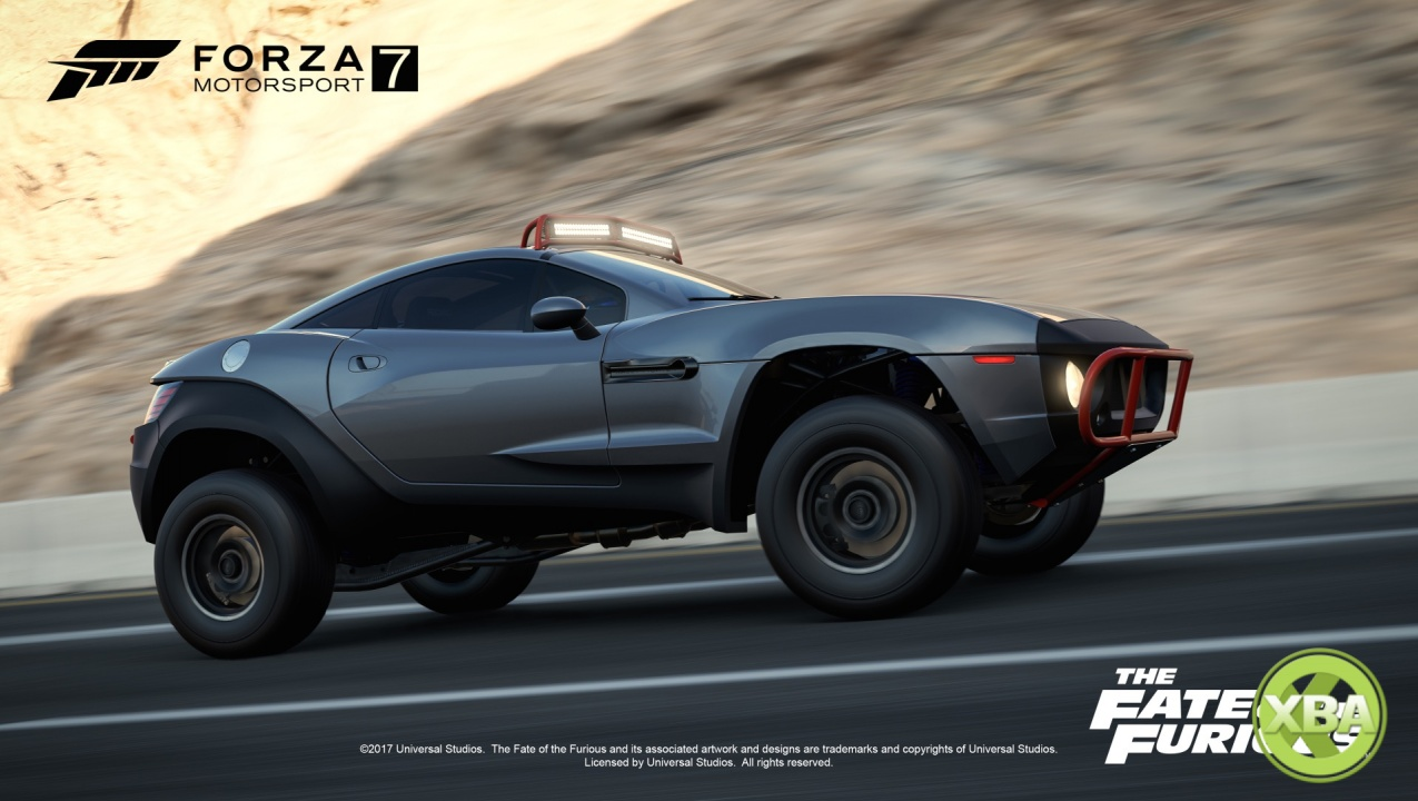 Forza Motorsport 7 is Getting a Fate of the Furious Car ...