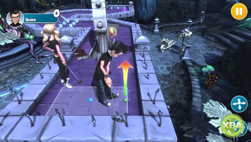 Play Minigolf Forever in Zen Studios' Infinite Minigolf