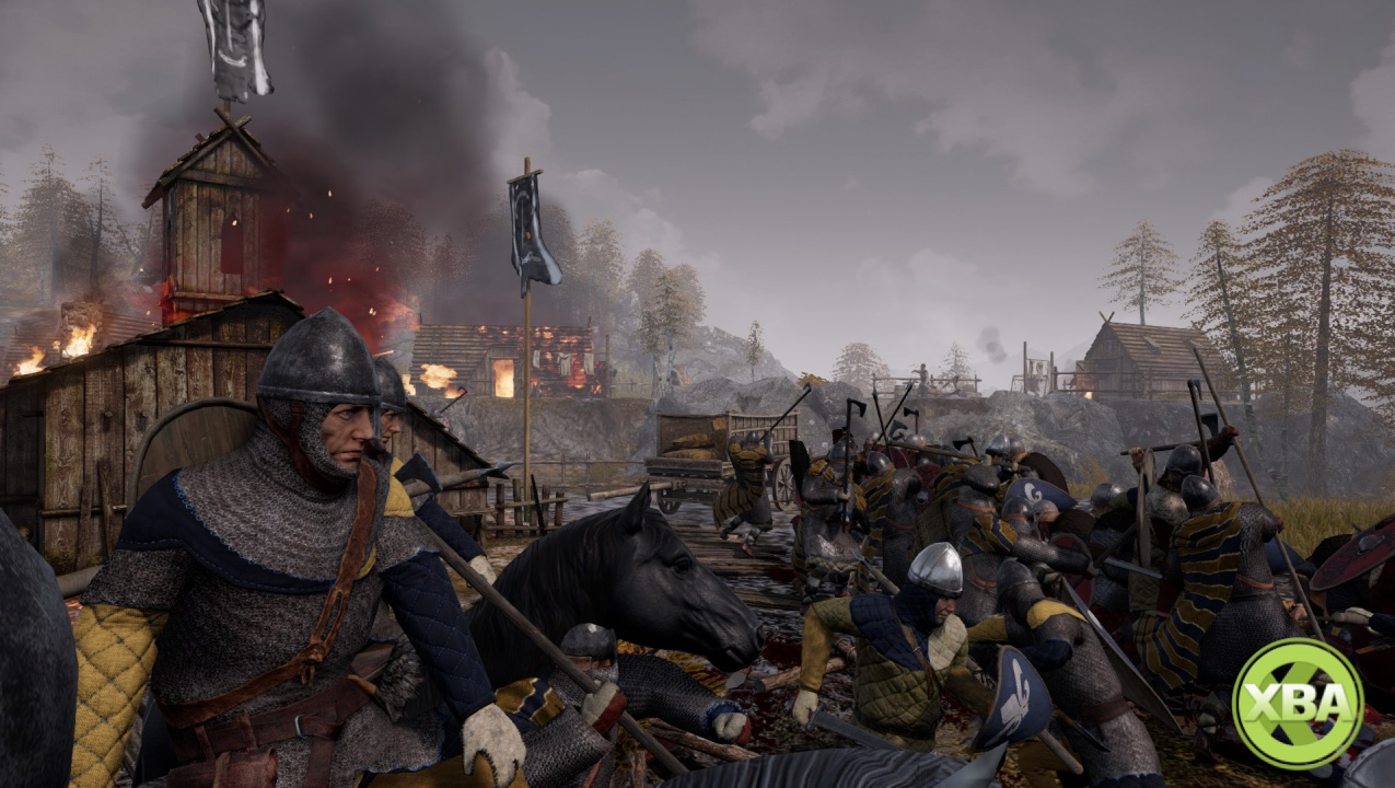 Xbox 360 Strategy Games : Ancestors announced bringing medieval real time strategy