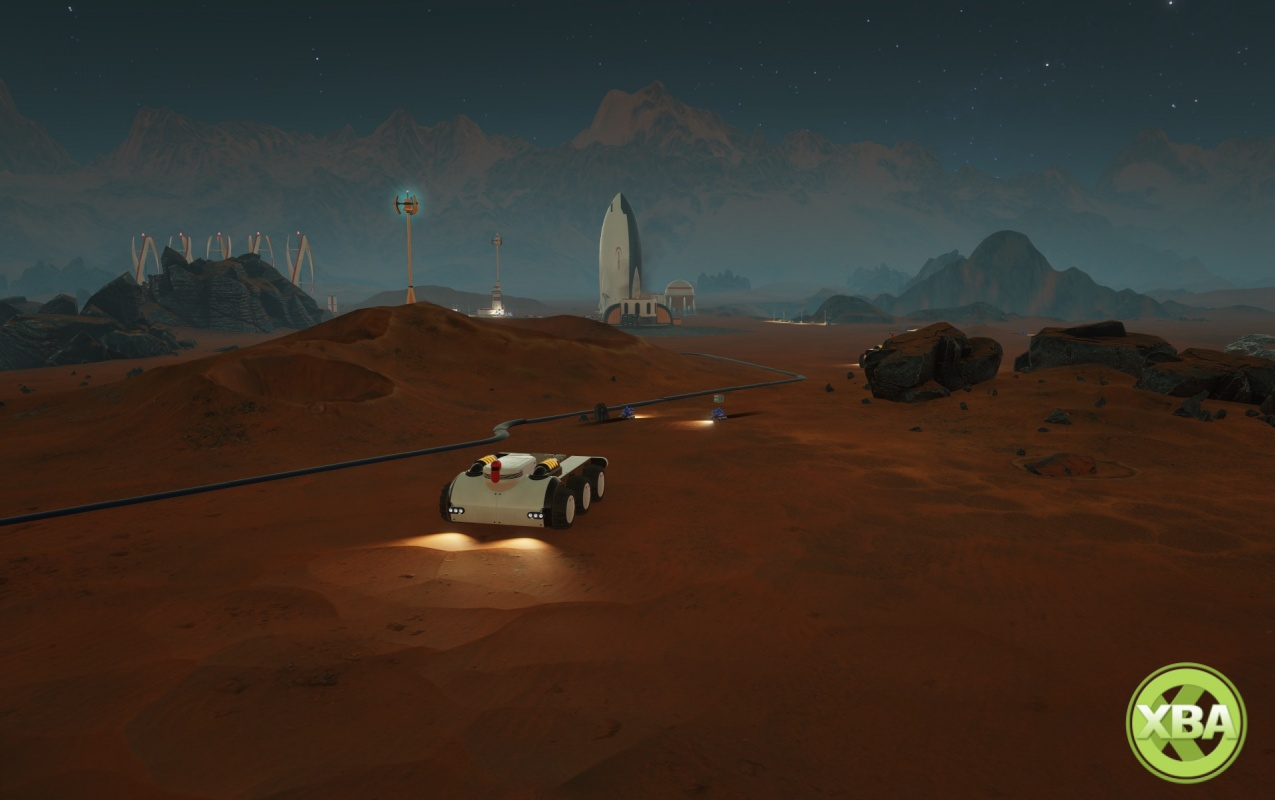 Venture to the Red Planet with Surviving Mars
