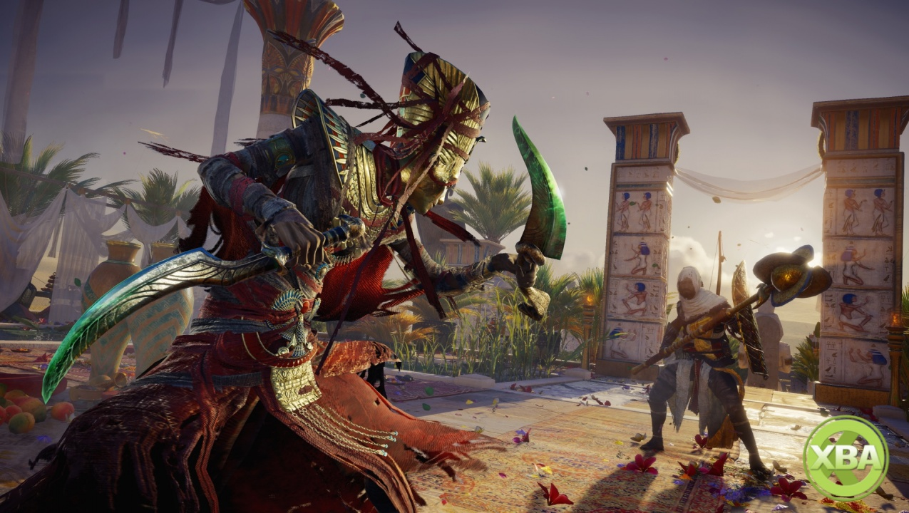 Take a look at Assassin's Creed Origins' The Curse of the Pharaohs