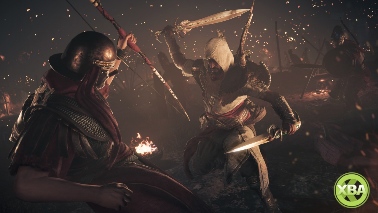 Assassin's Creed Origins DLC 'The Hidden Ones' trailer