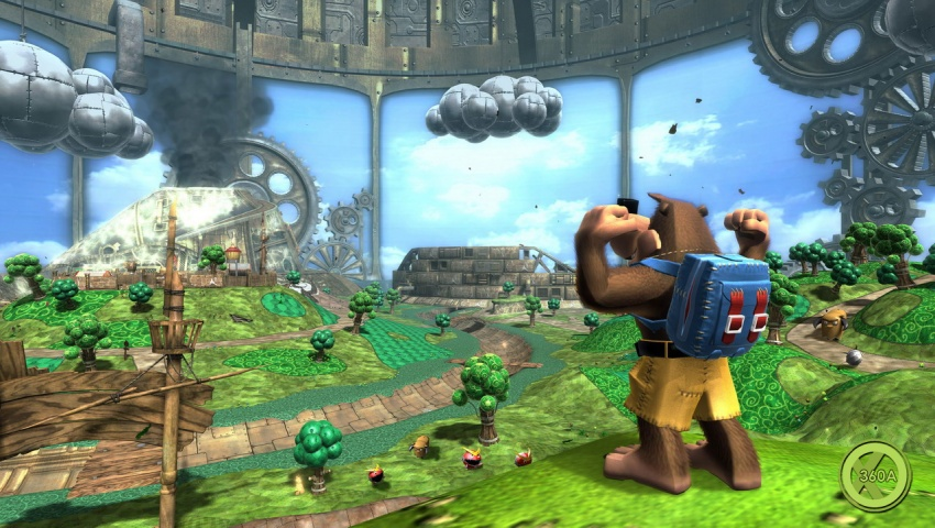 Banjo-Kazooie: Nuts & Bolts Xbox One X Enhancement Patch is
