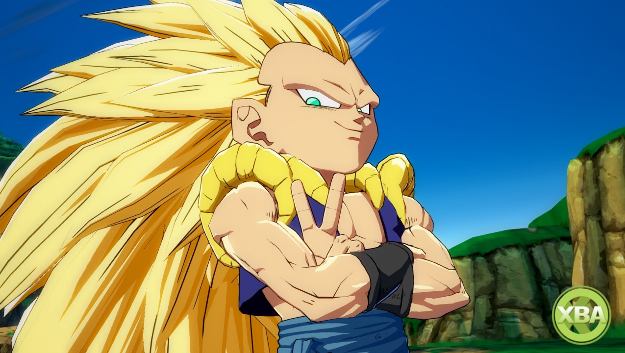 New Dragon Ball FighterZ screens feature Gotenks, Kid Buu and Son Gohan
