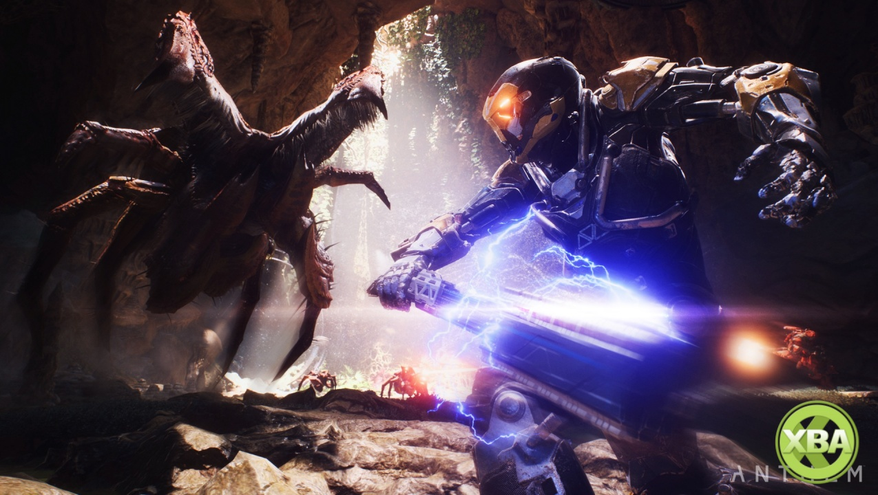 Check out 20 minutes of Anthem gameplay