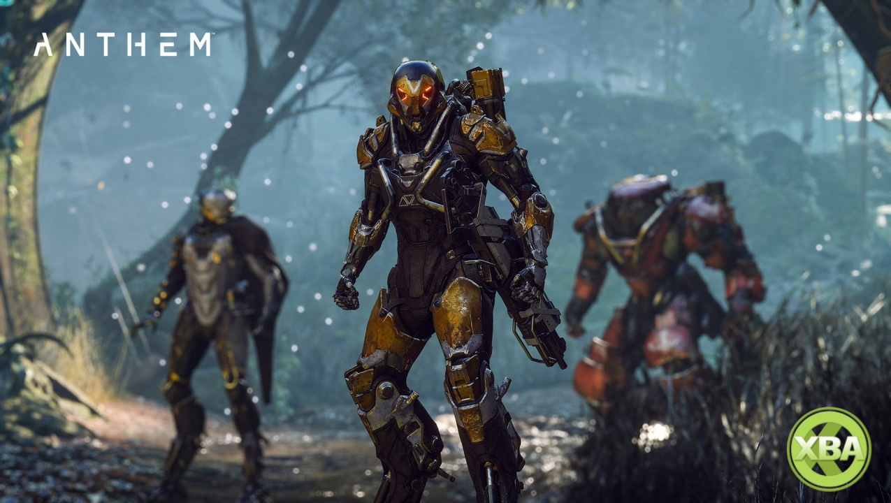 Sony Modifies Xbox One X Anthem Footage With PS4 Buttons