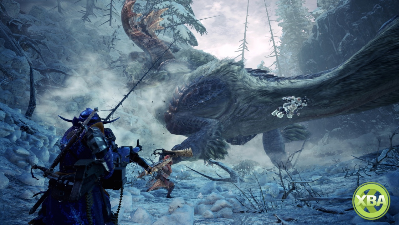 Get Ready for Iceborne with a Monster Hunter