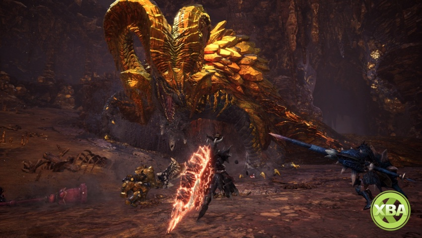Kulve Taroth Is Monster Hunter