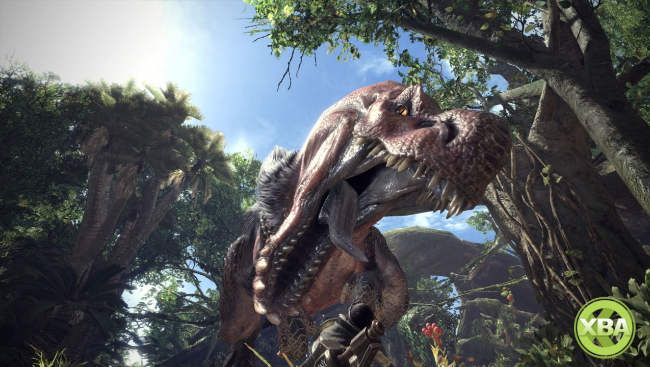 Get a Look at the Wildspire Waste in Monster Hunter