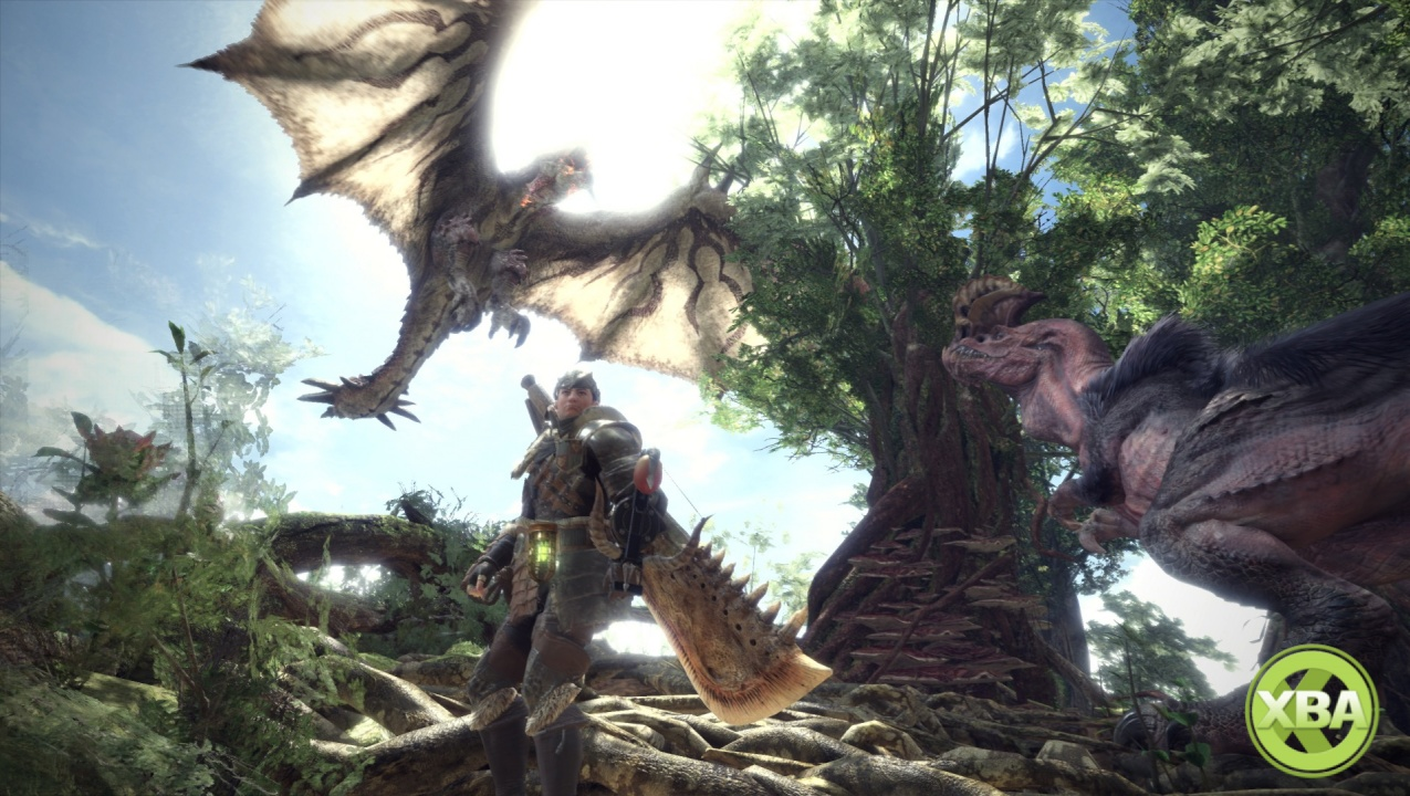 See all 14 weapon types in Monster Hunter