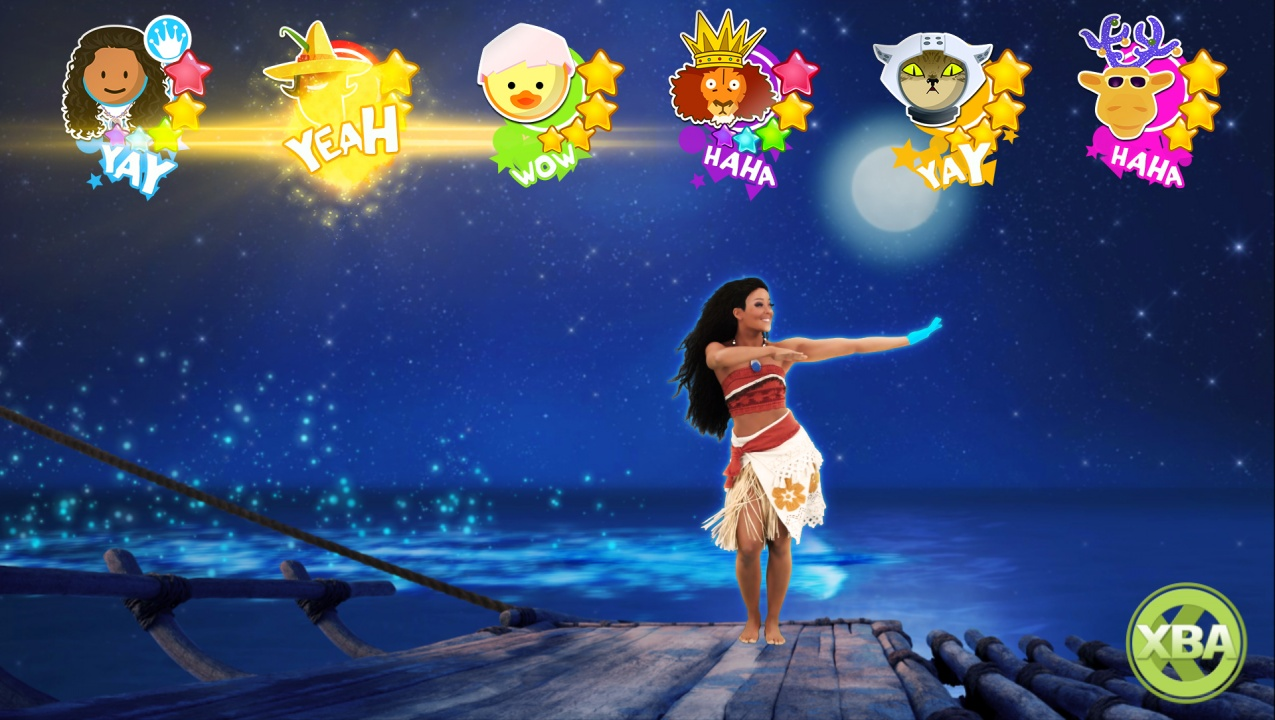 Just Dance 2018 Introduces Kids Mode Featuring Moana Disney Song