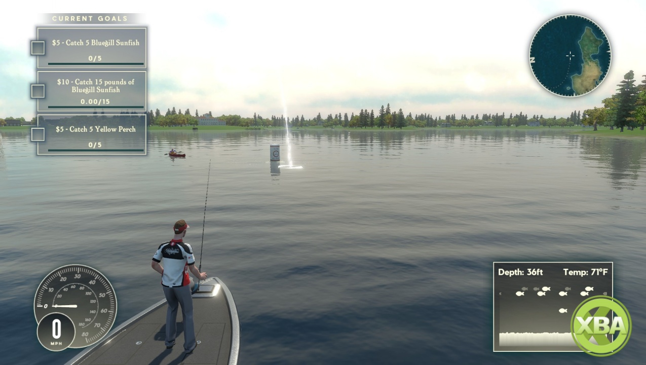 Rapala fishing pro series for Xbox one fishing games