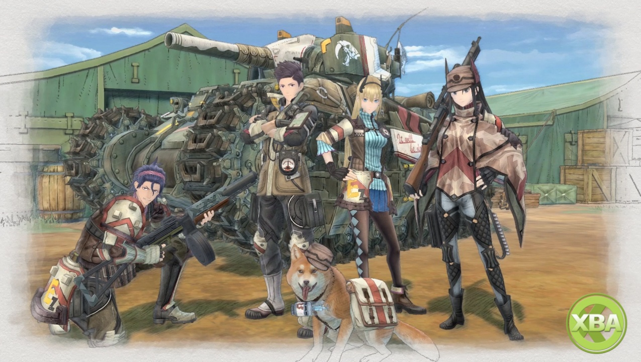 Valkyria Chronicles 4 Squad Trailer Introduces Squad E