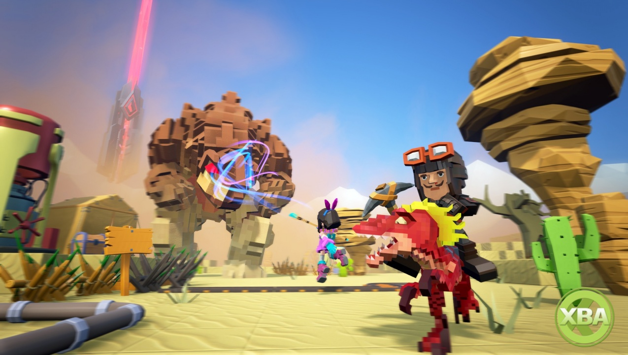 PixArk is Snail Games' own take on the world of Ark