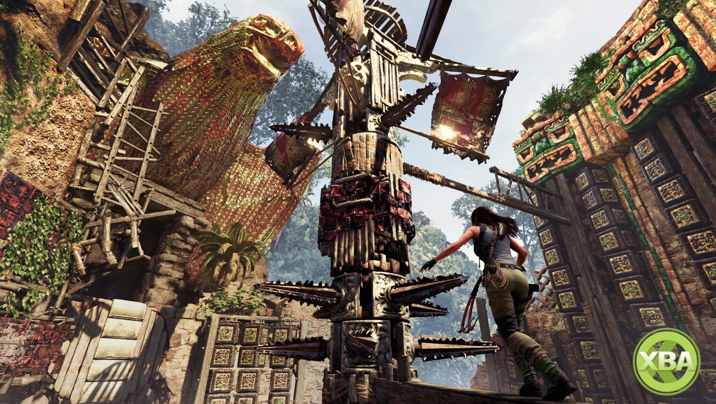 Shadow Of The Tomb Raider Gameplay Video Showcases Challenge Tombs