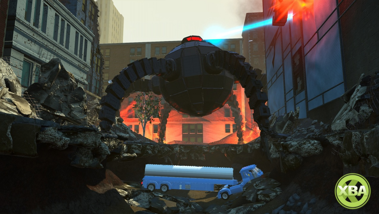 New LEGO The Incredibles Trailer Shows Off Crimewaves Feature