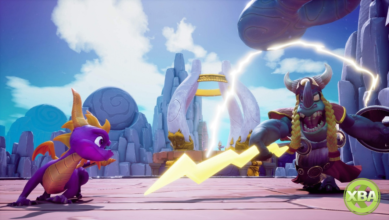 Spyro Reignited Trilogy's disc will contain portions of both sequels
