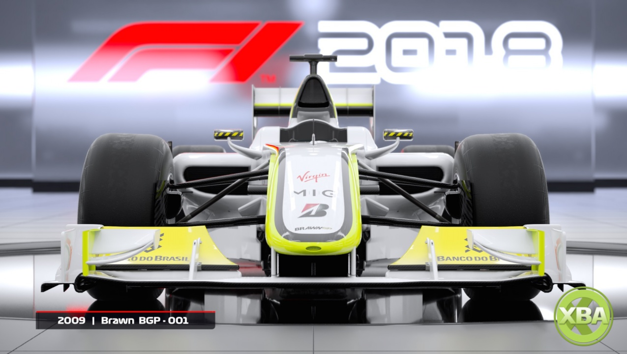 F1 2018 Headline Edition will Include Classic F1 Cars