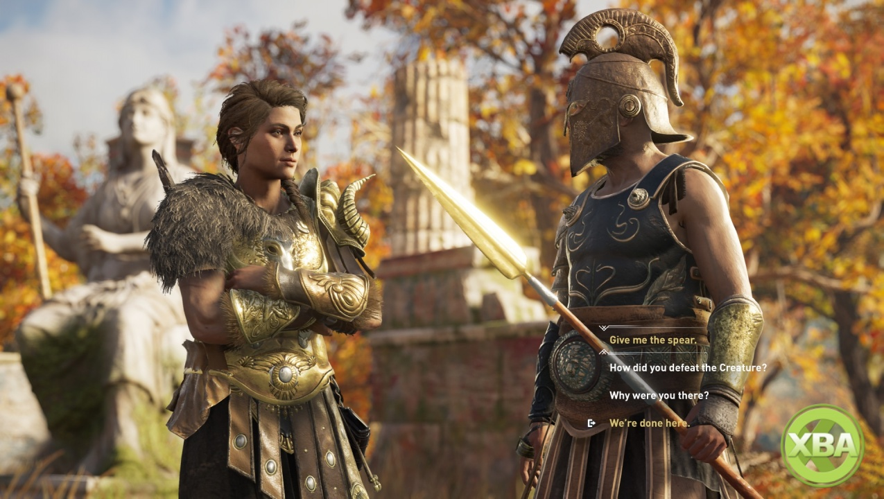 Assassin S Creed Odyssey Gameplay Features High Level Combat