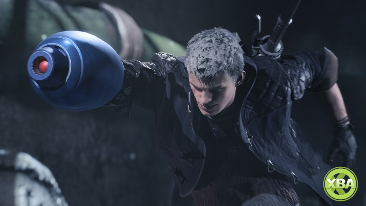 Devil May Cry 5 Adds Mega Man's Mega Buster