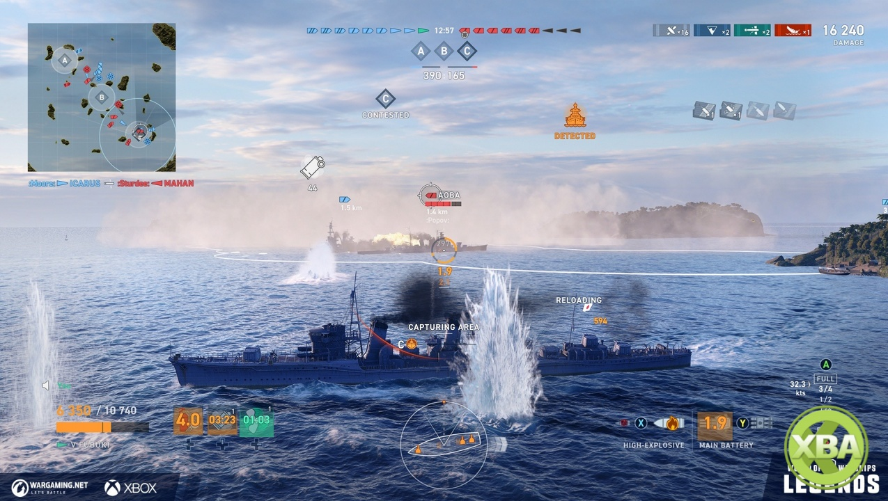 World of Warships: Legends is Out Now For Xbox One As an Early