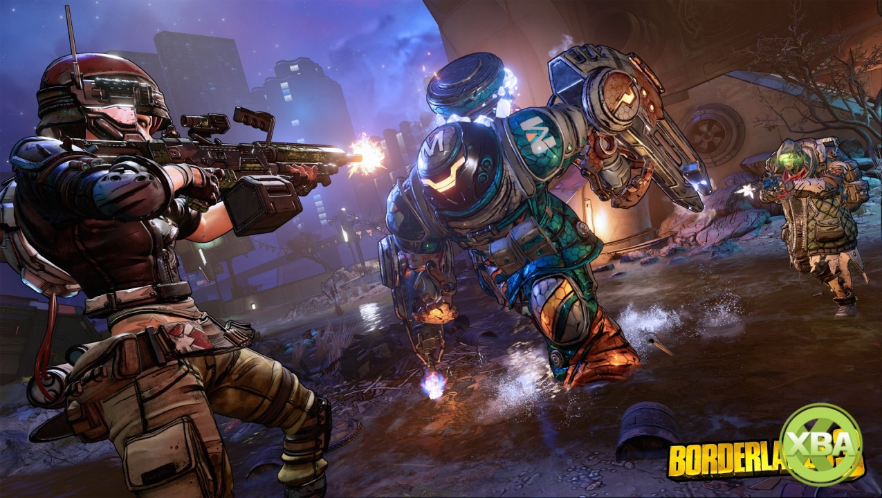 Borderlands 3 Is Getting an Four Player Duels & Pings