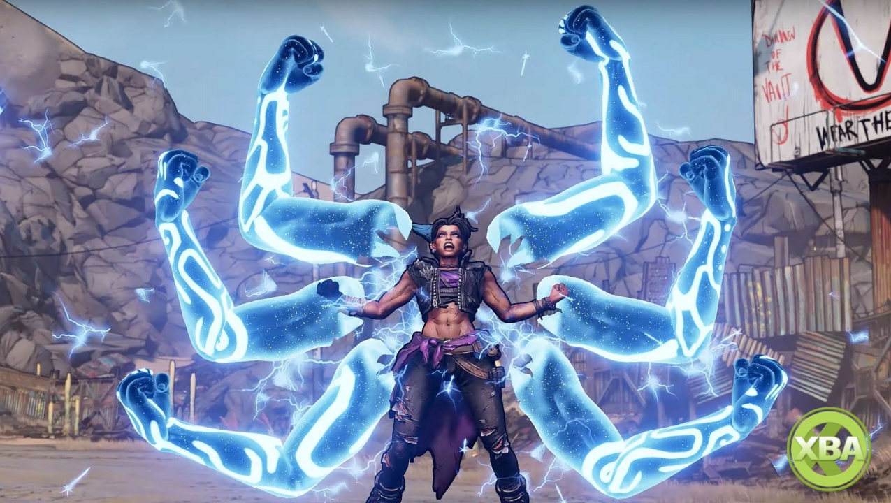 Amara Is Looking for a Fight in a New Borderlands 3 Trailer