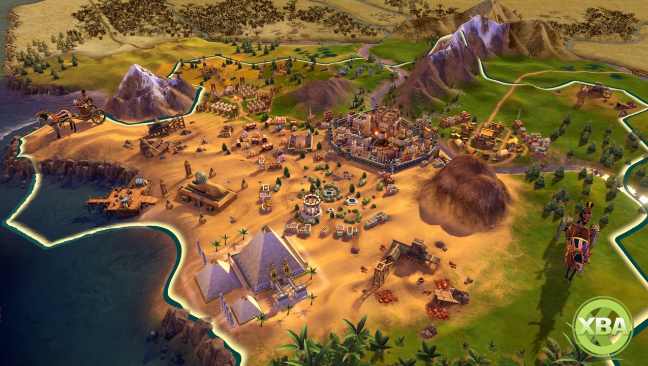 Civilization VI Announced For Xbox One Release in November